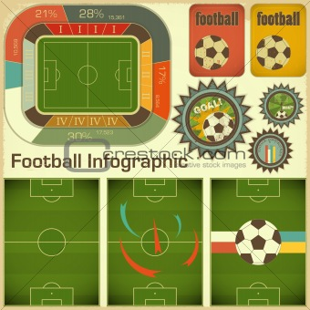 Football Infographic Elements