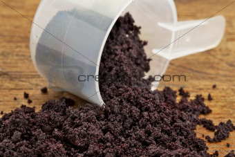 dried acai berry powder
