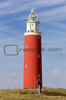 lighthouse, De Cocksdorp, Texel Island, Netherlands