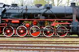 steam locomotive, Veendam - Stadskanaal, Netherlands