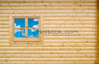 Wooden Cottage Wall