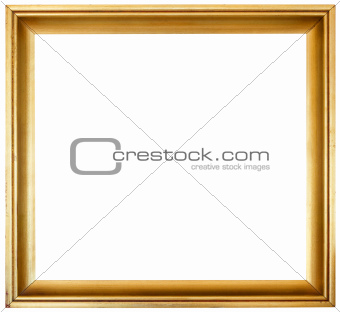 Golden Frame Cutout