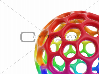 hollow honeycomb cell ball