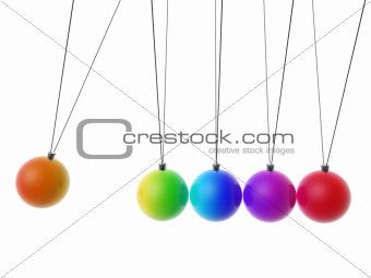 newton Cradle balls