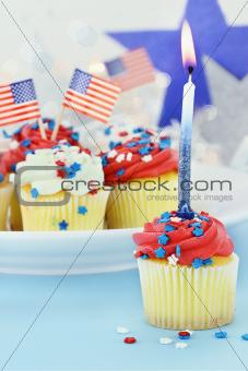 Patriotic Cupcakes 3