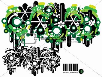 Techno elements FIFTEEN