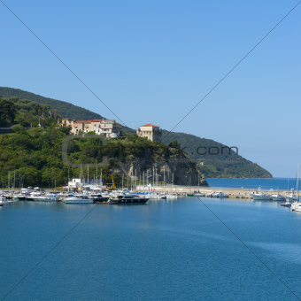 Agropoli, the port