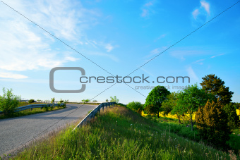small country road