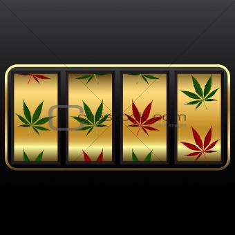 cannabis slot machine