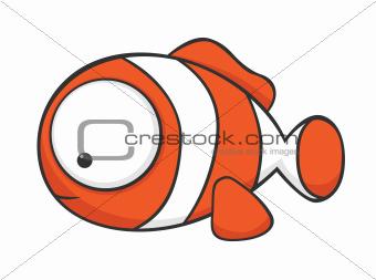 Big-eyed clownfish