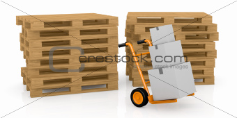 handtruck or trolley