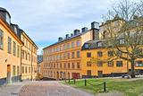 Stockholm. Old  streets in Sodermalm