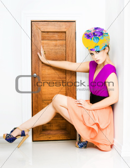 Fashion Police Blocking Doorway