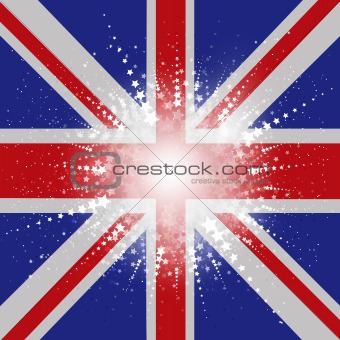 Starry Union Jack Flag
