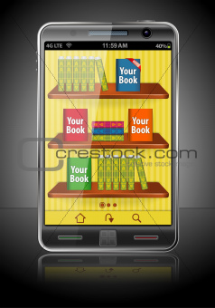 Books on Smart Phone
