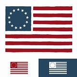 Original American flag design