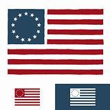 Original American flag design
