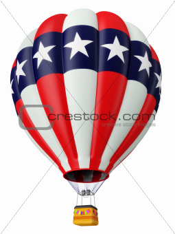 Balloon a symbol of the USA