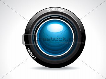 abstract glossy camera lense