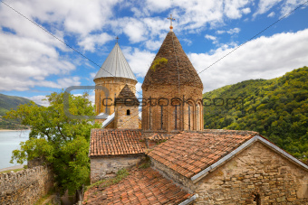 Church complex in fortress Ananuri