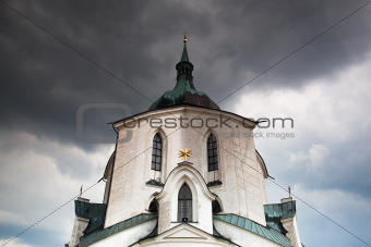 The pilgrimage church green hill - Monument UNESCO