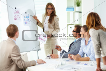 Presenting strategy