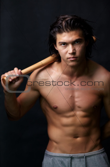 Guy with bat