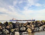 Drogheda bay, Drogheda, County Louth, Ireland