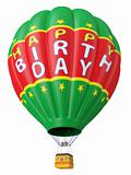 Balloon a congratulation happy birthday