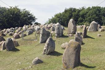 Stone viking graves