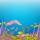 Cartoons_Ocean_Scape