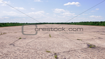 abandoned airstrip