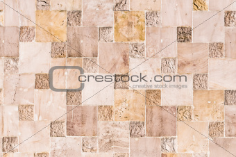 abstract stone quadratic background or texture