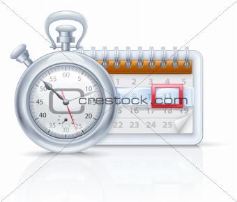 Chronometer and calendar