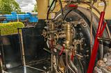 Steam engine cab