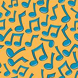 Seamless Music Note Pattern