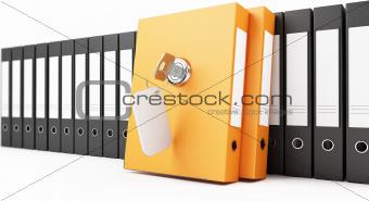 sutured folders