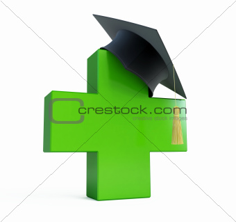 medical school graduation cap