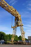 The industrial crane