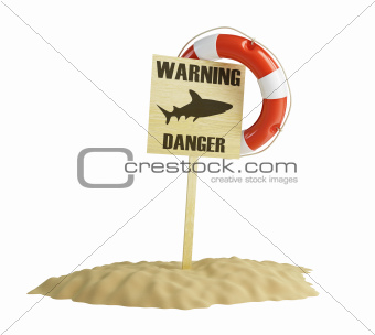 warning about the danger of the form