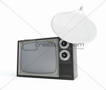 tv parabolic antena