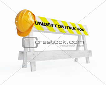 under construction helmet