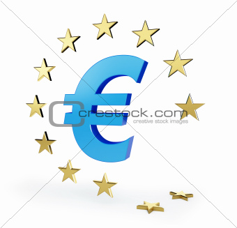 european union sign star dropped