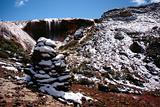 Divine waterfall in Gongga snow mountain