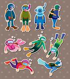 diver stickers