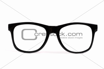 Image 4738043: black frame glasses isolated on white ...