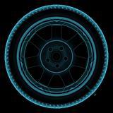 Wheel x-ray