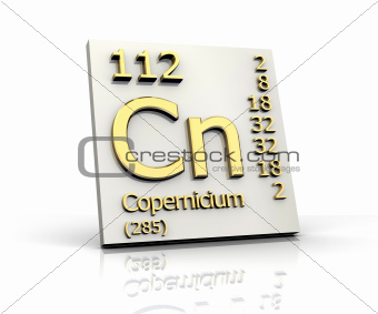 Copernicium Periodic Table of Elements