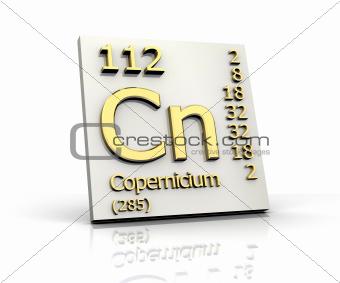 Copernicium Periodic Table of Elements