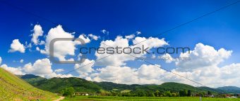 Sumer landscape